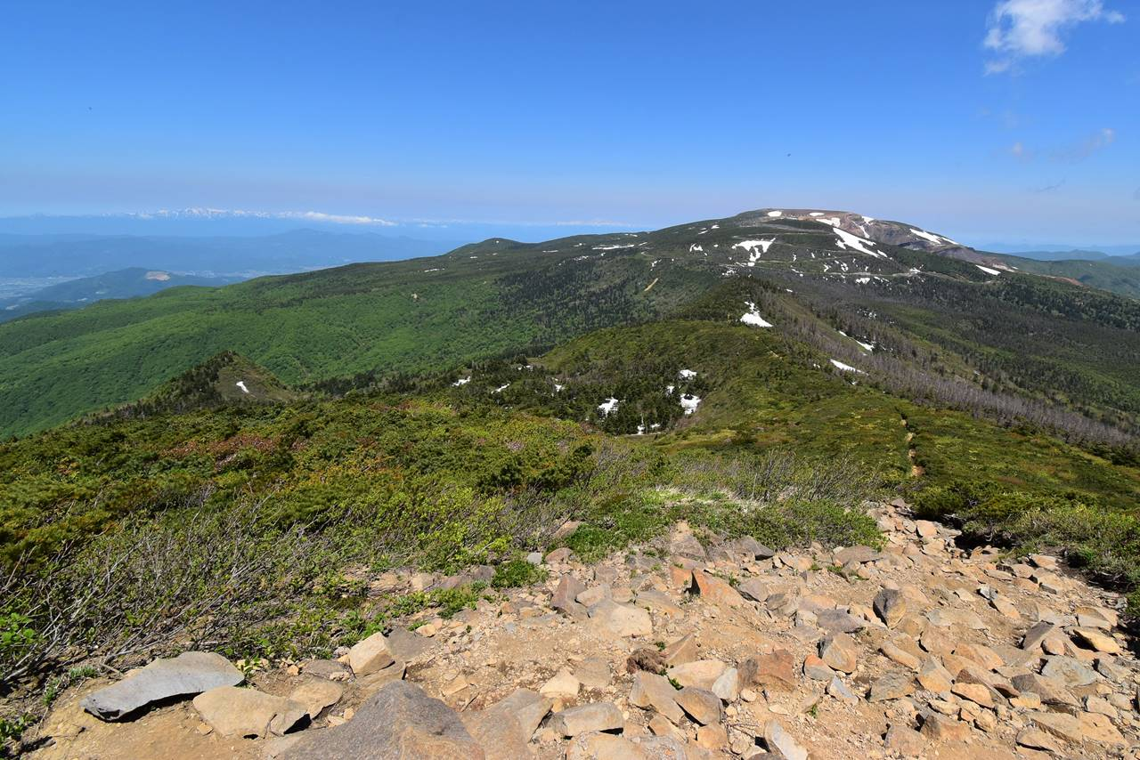 杉ヶ峰山頂からの展望
