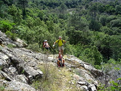 Entre le Valdu Grande et le col de la pointe 571 : après la traversée du ruisseau intermédiaire