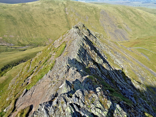 And looking back along Sharp Edge