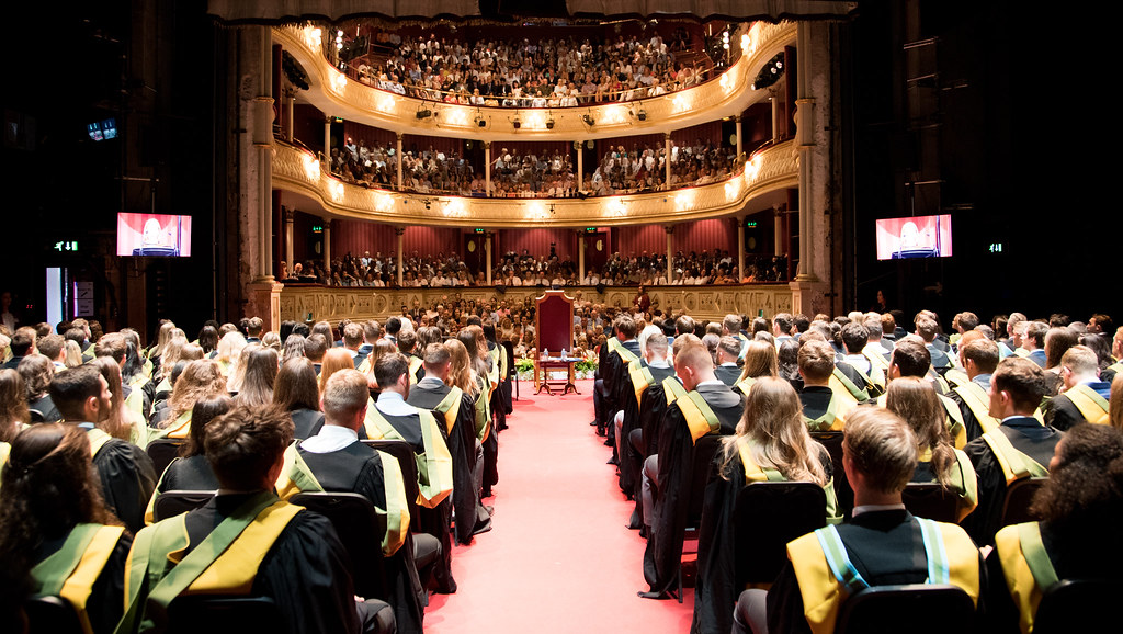 The Theatre Royal provided an iconic backdrop to this year's summer graduations