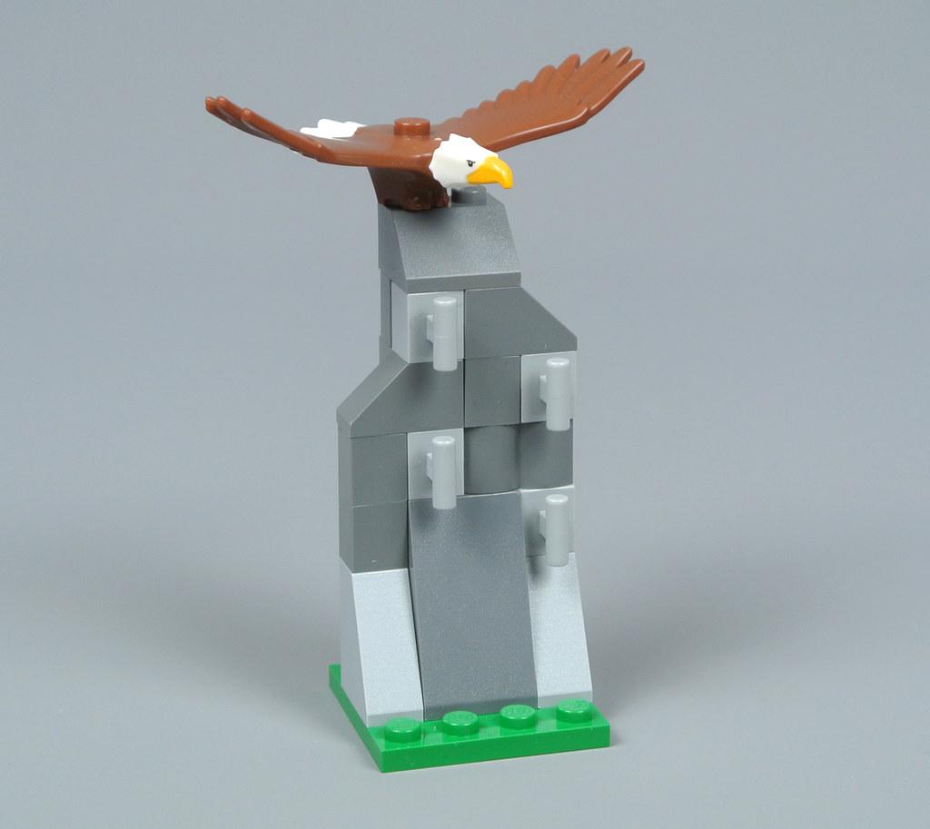 LEGO New Reddish Brown Eagle Bird Outdoor Camping Animal