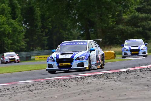 Ashley Sutton, Subaru Levorg GT, British Touring Car Championship, Croft 2018