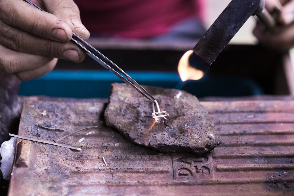 onceoverlightly bali silversmith workshop