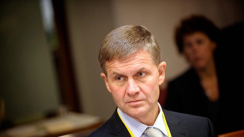 聯合國環境規劃署執行董事梭雷(Erik Solheim)。圖片來源:Johannes Jansson