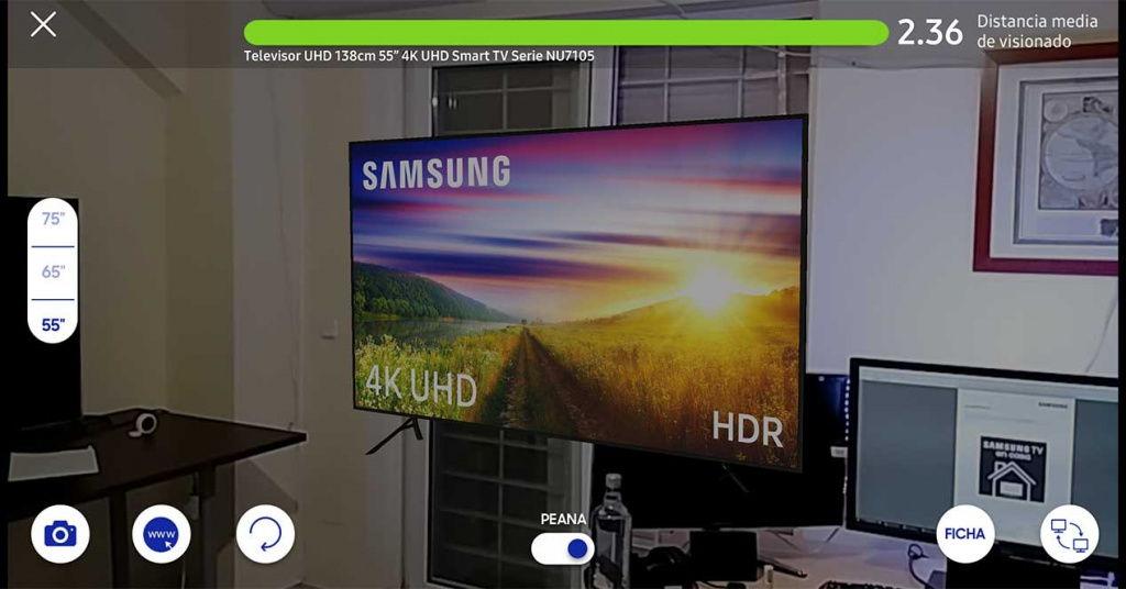 Cómo calcular el tamaño de la Smart TV que necesitas con el móvil