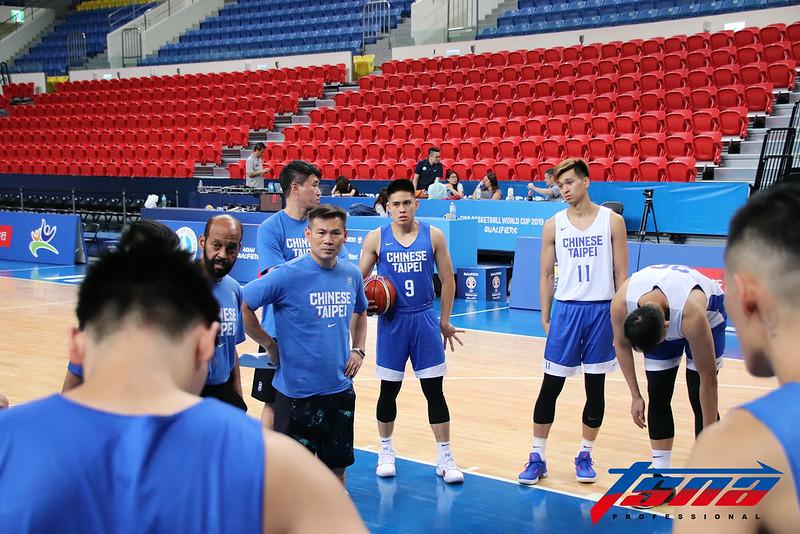 中華男籃將迎戰菲律賓。(林志儒/攝)