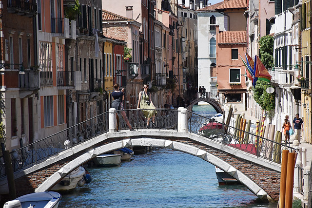 Bridge in Dorsoduro, Venice, Italy