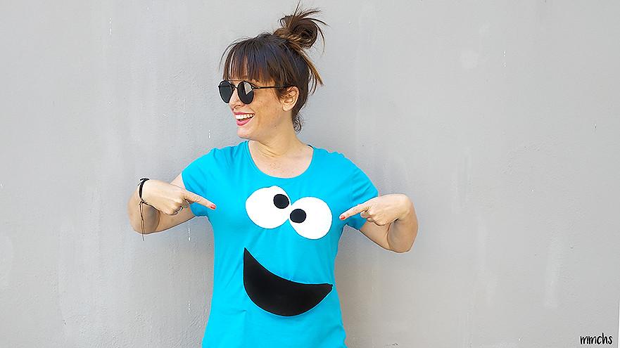 camiseta casera de COCO monstruo de las galletas