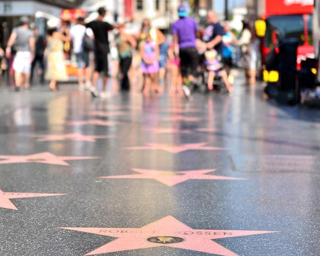 Paseo de la fama de Los Angeles en Estados Unidos