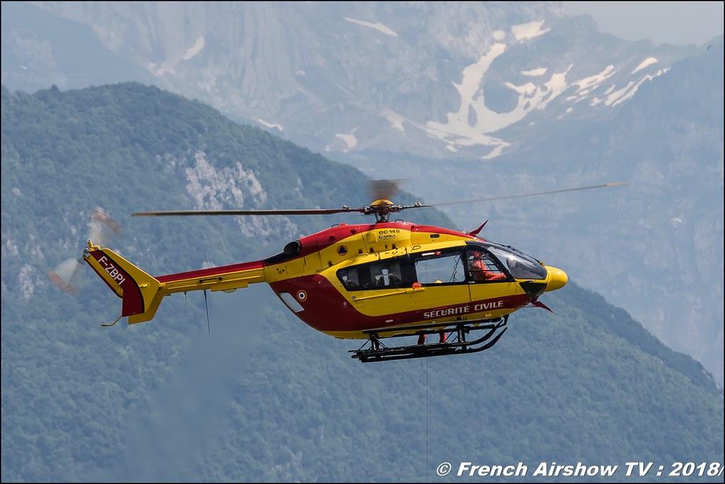 EC145 - Sécurité Civile , AéroLac Annecy 2018 , Canon EOS , Sigma France , contemporary lens , Meeting Aerien 2018