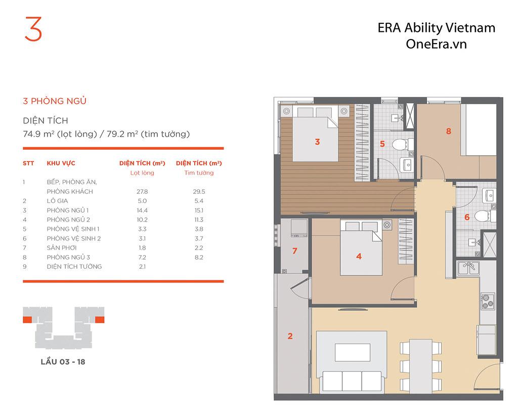 Mặt bằng tầng và thiết kế căn hộ Hausneo 50