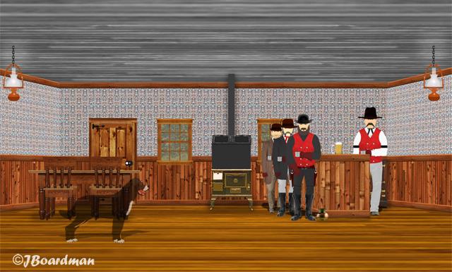 Inside Nuttal & Mann's Saloon ©JBoardman