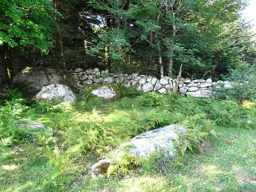 Sur la trace cairnée de la traversée Funtanedda - Apaseu : les murets