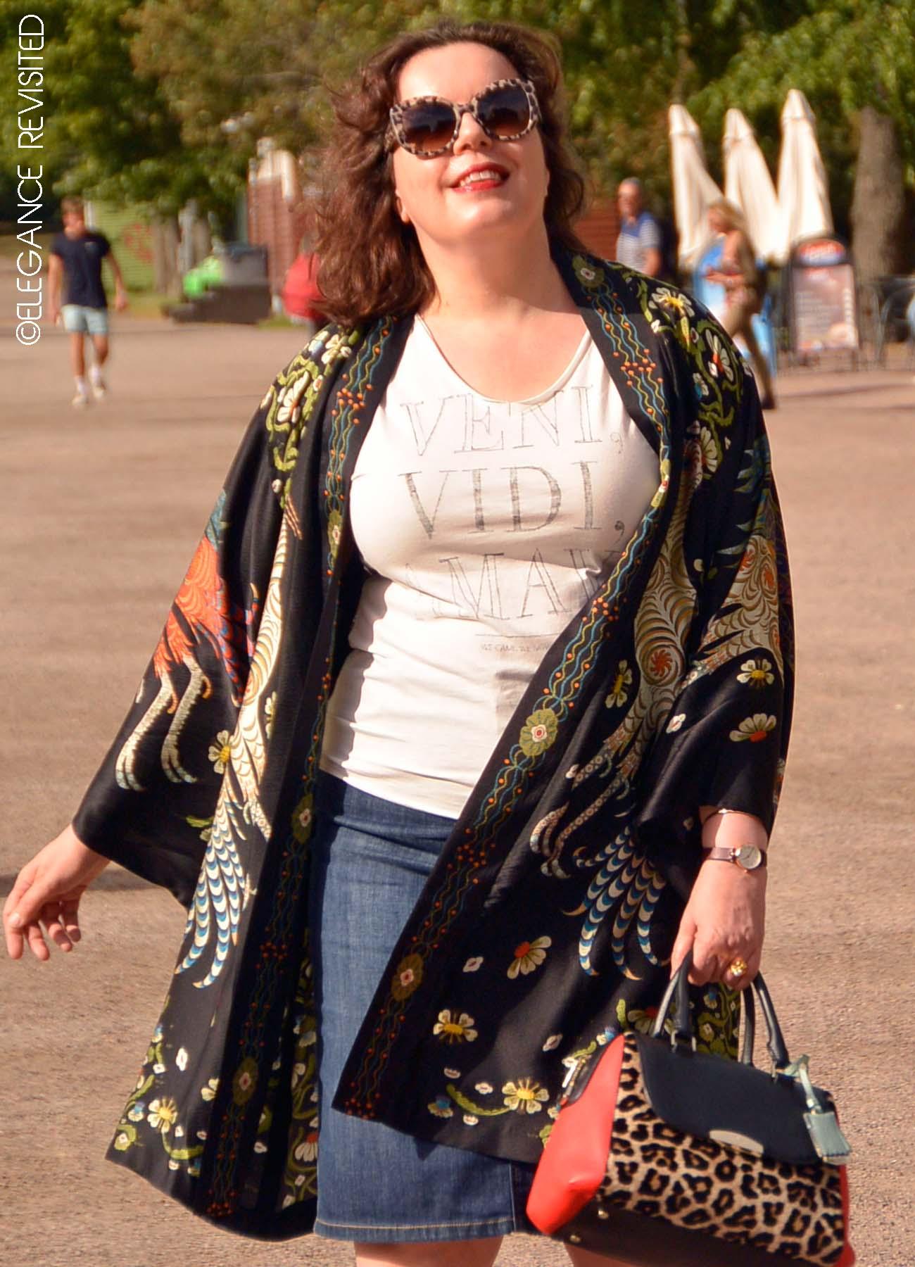 silk kimono over 40