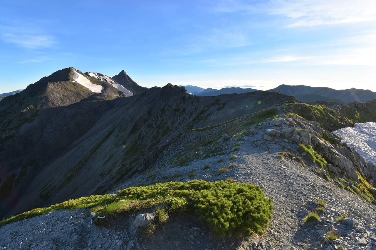 南岳から槍ヶ岳へ 稜線登山