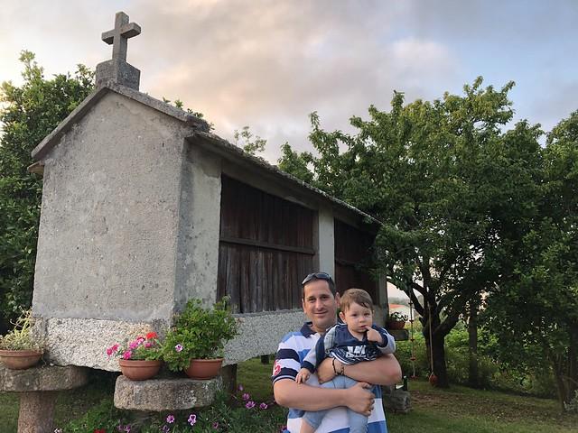 Sele con Unai en Galicia