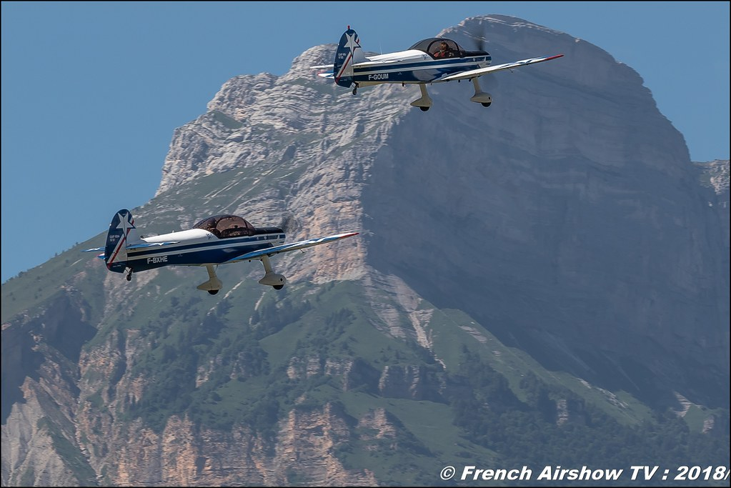 Patrouille Captens , Adam & Marianne Shaw , Cap10 , Grenoble Air Show -Versoud 2018 , Meeting Aerien Meeting Grenoble , Alpes Dauphiné , alpes , Canon EOS , Sigma France , contemporary lens , Meeting Aerien 2018