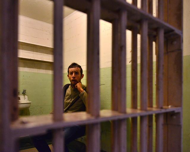 Dentro de la celda de Al Capone en la cárcel de Alcatraz