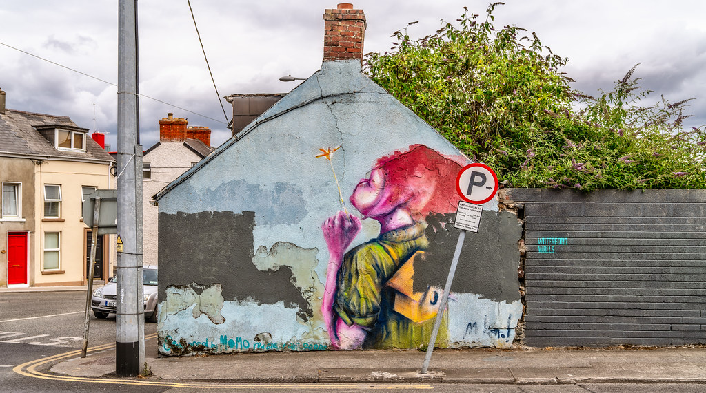 STREET ART BY MAGDALENA KAROL WHO IS FROM POLAND BUT LIVING IN WATERFORD