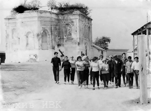 Храм с. Маяки. Фото 1970-80-х гг.