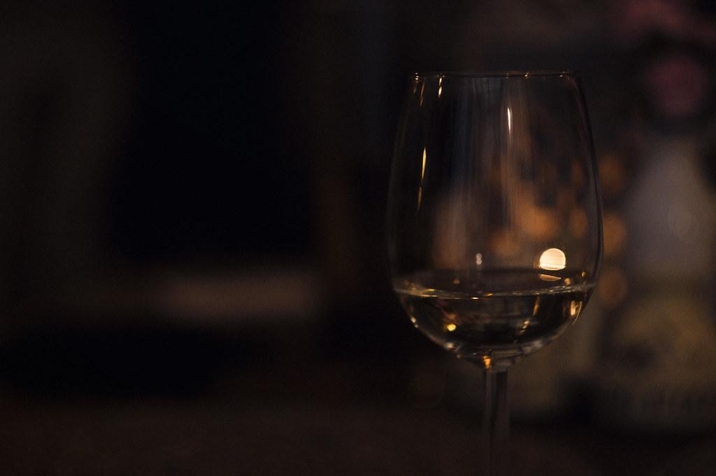 zachód słońca w kieliszku wina, Trattoria Cyklop