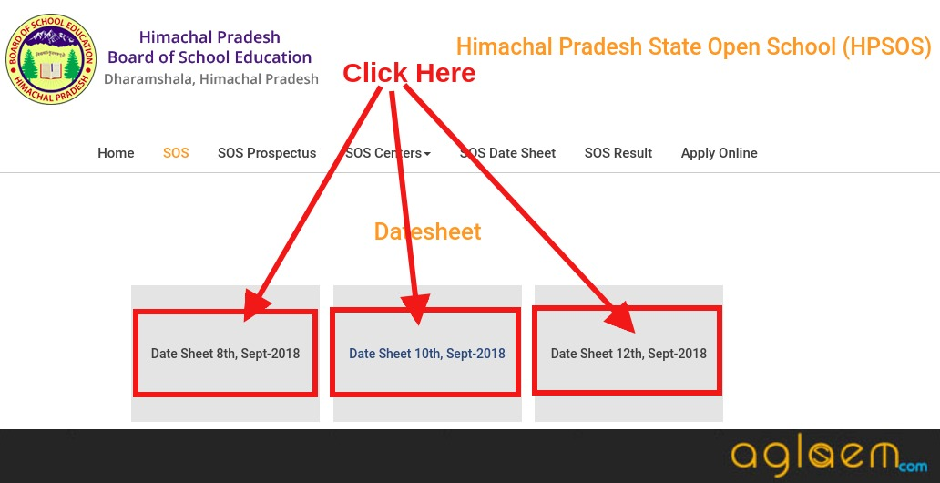 HPSOS Compartment Date Sheet 2018 Released; Know More