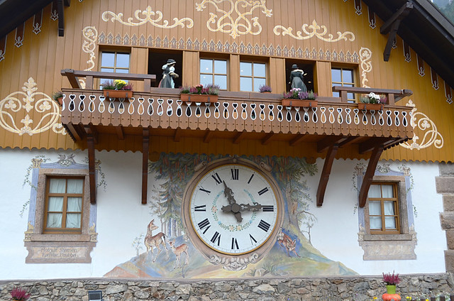 Village of the cuckoo clocks,Black Forest, Germany