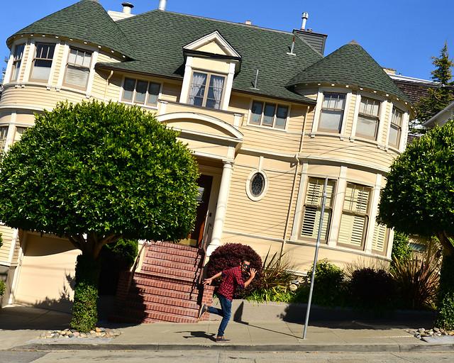 Casa de la señora Doubtfire en San Francisco