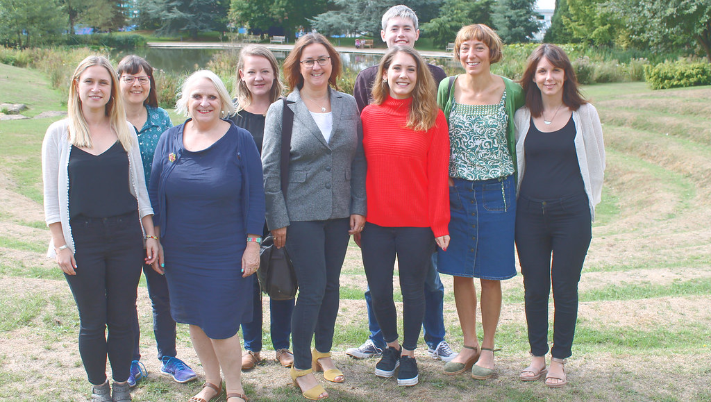 Members of the Tobacco Control Research Group at the University of Bath.