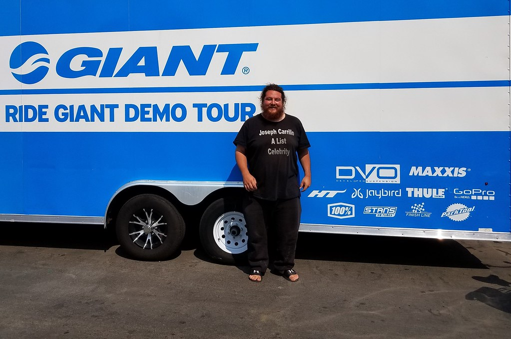 Famous Celebrity Joseph Carrillo Promoting Giant Bicycles ...