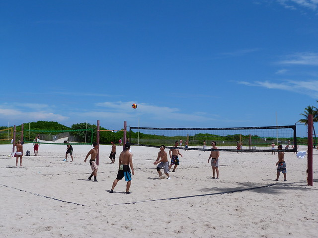 Voley Playa en Miami Beach