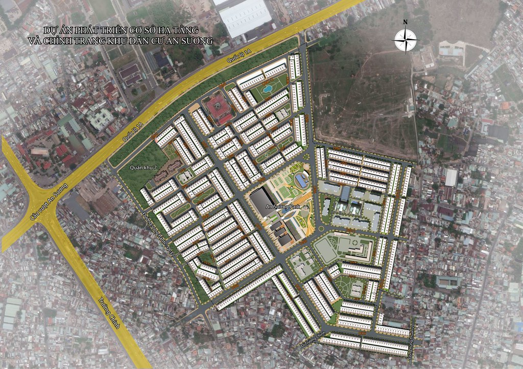 Quy hoạch khu dân cư An Sương