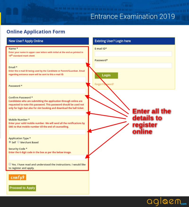 Sathyabama University Entrance Exam 2019 Application Form