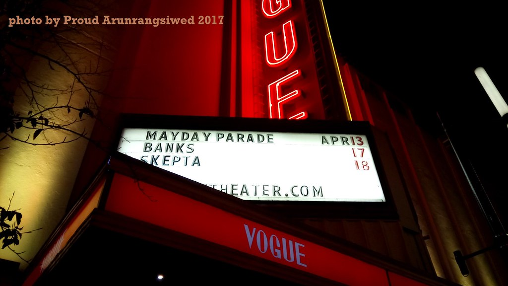 วง Mayday Parade แสดงดนตรี concert live ที่ vancouver