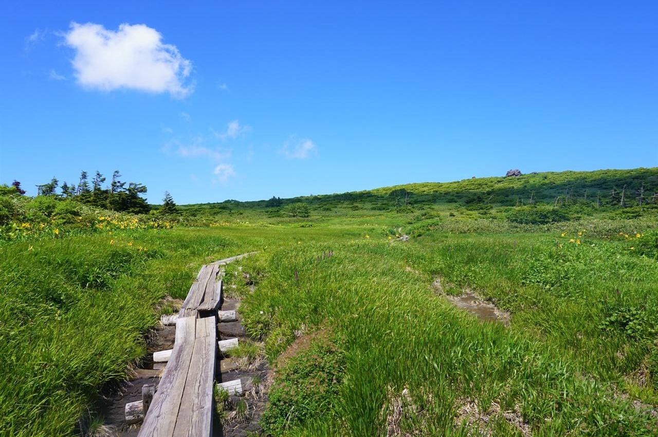秋田駒ヶ岳~乳頭山の湿原