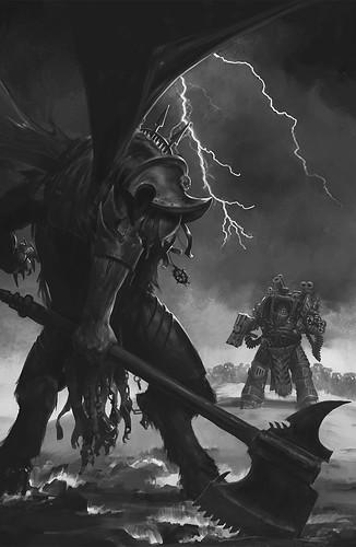 Джон Френч «Рабы Тьмы», иллюстрация