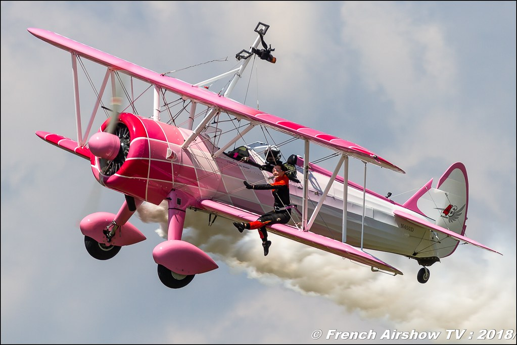 46 Aviation SA - 46 Aviation Wingwalker Danielle , Grenoble Air Show -Versoud 2018 , Meeting Aerien Meeting Grenoble , Alpes Dauphiné , alpes , Canon EOS , Sigma France , contemporary lens , Meeting Aerien 2018