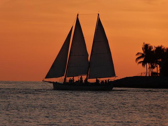 Atardecer en Key West, uno de los imprescindibles que ver en Florida