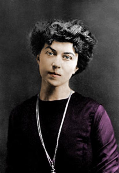 柯倫泰(1872-1952),俄國共產主義革命者,被西方女權主義者奉為先驅。