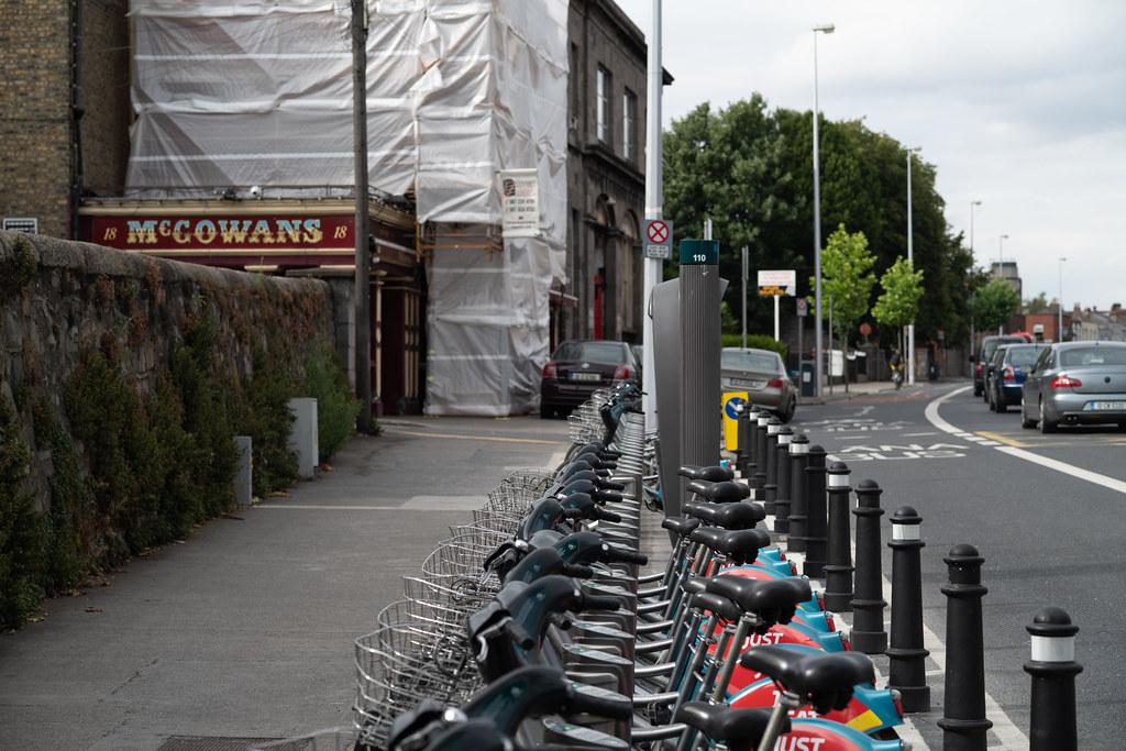 DUBLINBIKES DOCKING STATION 110 ON PHIBSBOROUGH ROAD 006