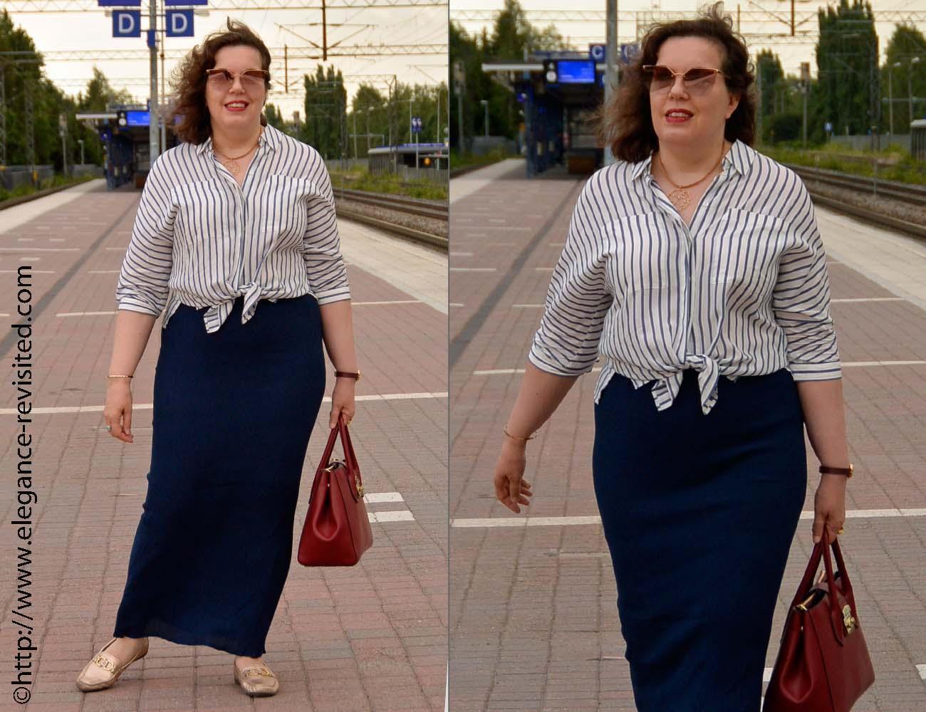 maxi skirt over 40