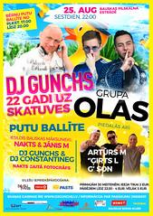 DJ Gunchs - 22 gadi uz skatuves