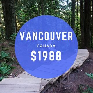 Vancouver Canada $1988 mo