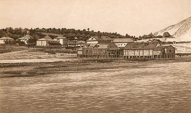 Монастырский хутор в Маяках с мельницами и церковью Покрова Пресвятыя Богородицы