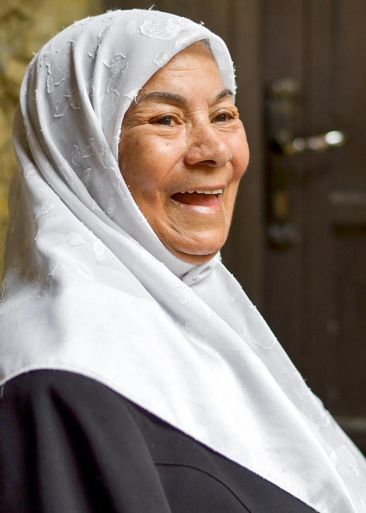 Retrato de una señora en Jerusalén