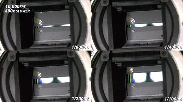 Como funciona o obturador de uma câmara?