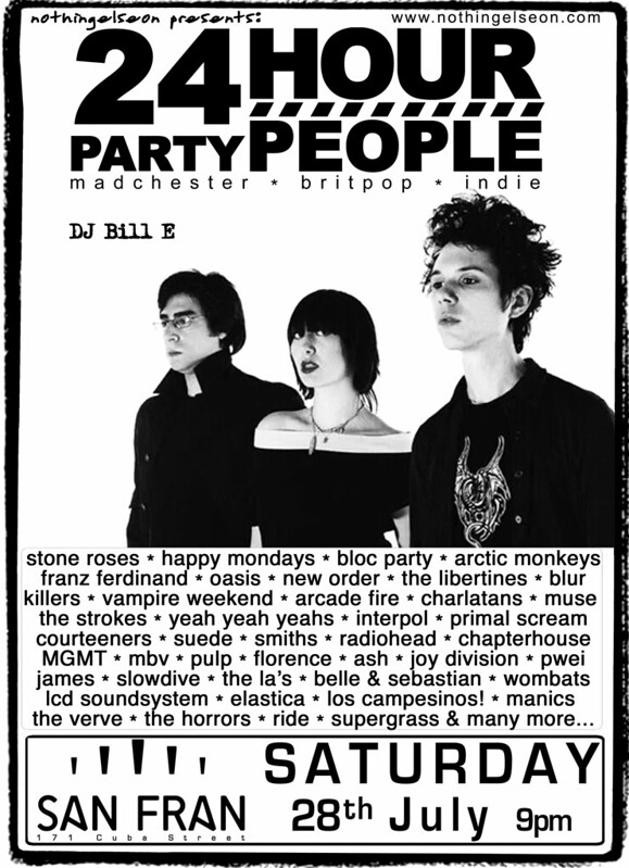 24 Hour Party People Poster