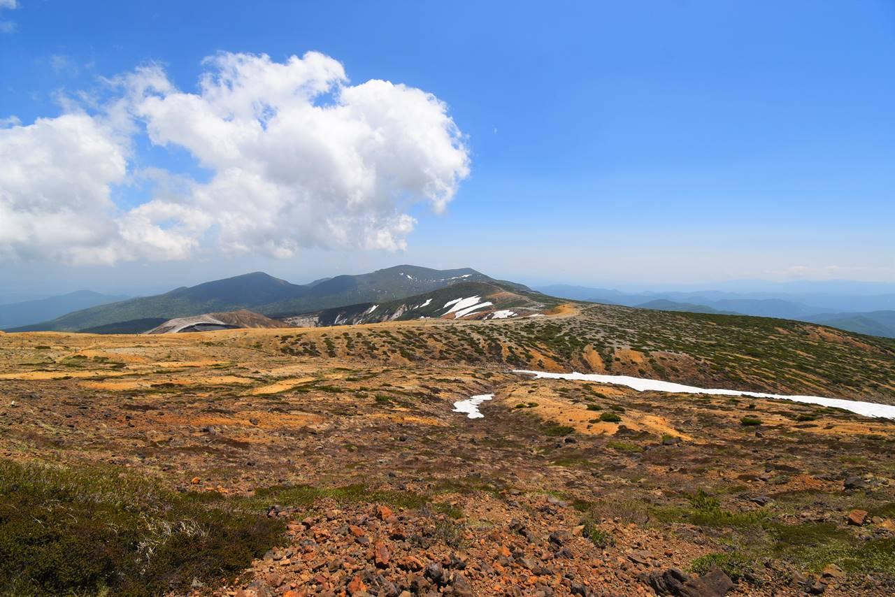 熊野岳山頂からの展望