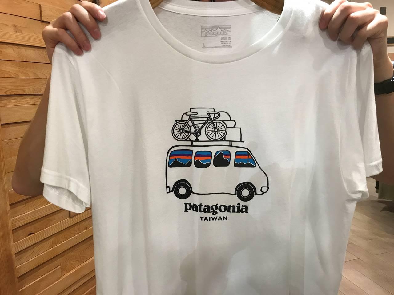 台湾・台北 パタゴニアTシャツ