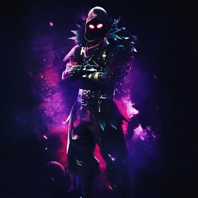 Fortnite Wallpaper : [Fortnite Fan Art]: Raven Phone Wallp